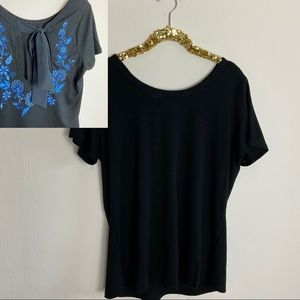 ✿❀ Lane Bryant Embroidered Top Womens Size XL